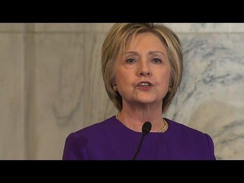 Hillary Clinton issues stark warning over fake news 'epidemic'