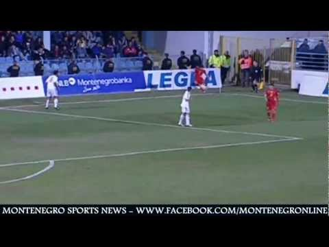 Montenegro vs San Marino - goals (Europe World Cup Qualification)