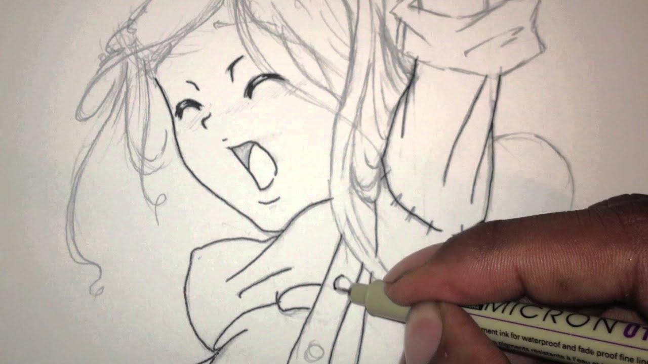 Merry Christmas Anime Drawing Merry Christmas Anime Drawing