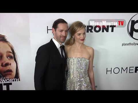 Kate Bosworth and Michael Polish arrive at 'Homefront' World Film premiere