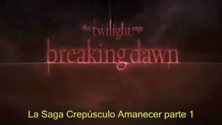Amanecer Trailer Oficial subtitulos español