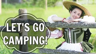 Come with me to a Medieval Camping Event! (SCA Vlog!)