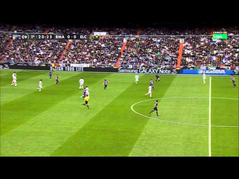 La Liga 22 02 2014 Real Madrid CF vs Elche - HD - Full Match - 1ST - Spanish Commentary