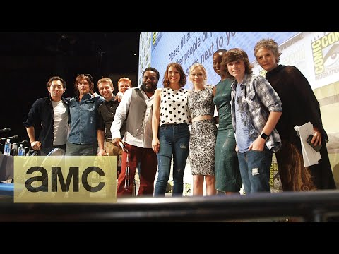 Backstage With The Cast At Comic-con: The Walking Dead: Season 5 video