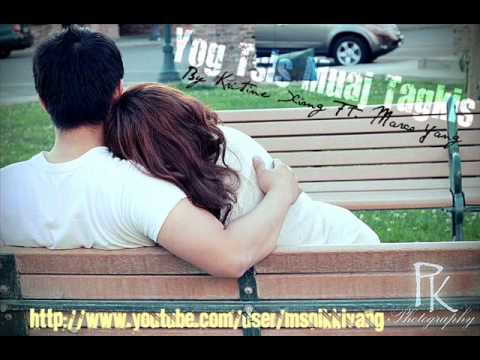Kristine Xiong Ft. Marco Yang - Yog Tsis Muaj Tagkis W  Lyrics video