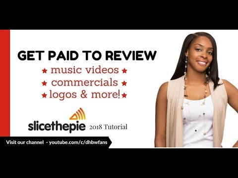 Slice the Pie 2018: Get Paid To Review Music Videos. Commercials. Logos. & More!