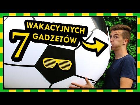 ☀️ 7 GADZETÓW IDEALNYCH Na WAKACJE ☀️ *największa Dmuchana Piłka & TURBO DO ROWERU*