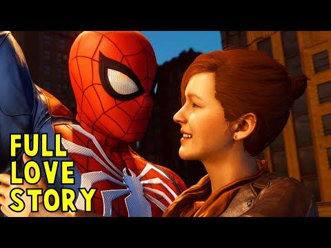Spider-Man & Mary Jane Love Story (All Dating Scenes) - Marvel's Spider-Man 2018 (Insomniac Game)