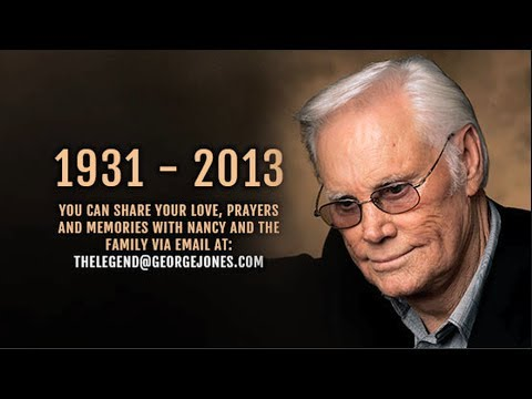 George Jones Tribute - The Final 'No Show' by Love's, JH Design Group & HD Perfect Video
