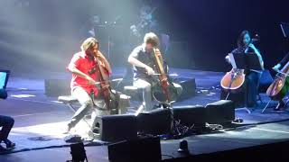 2cellos Game Of Thrones Medley Rogers Arena Vancouver Apr 25th 2018