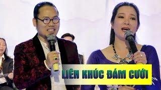 Khán giả thích thú với giọng hát của Vượng Râu Thanh Thanh Hiền ở đám cưới