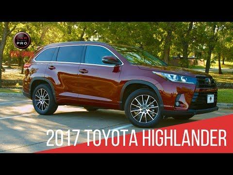 Test Drive: 2017 Highlander
