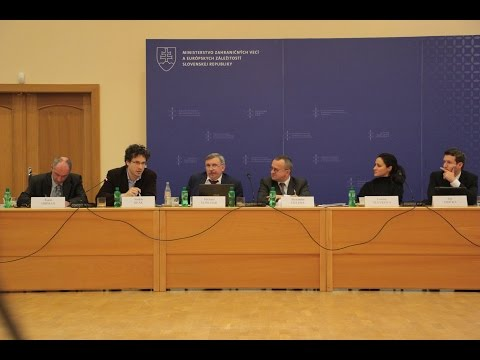 Panel 3. Central Europe-Ukraine-Russia: Energy security