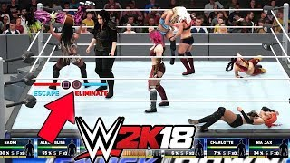 download lagu Wwe 2k18 - 8 Women Battle Royal gratis