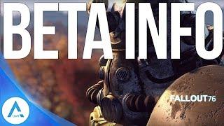 Fallout 76: Beta Pre Order Info, Xbox Early Beta Access, Pre Download