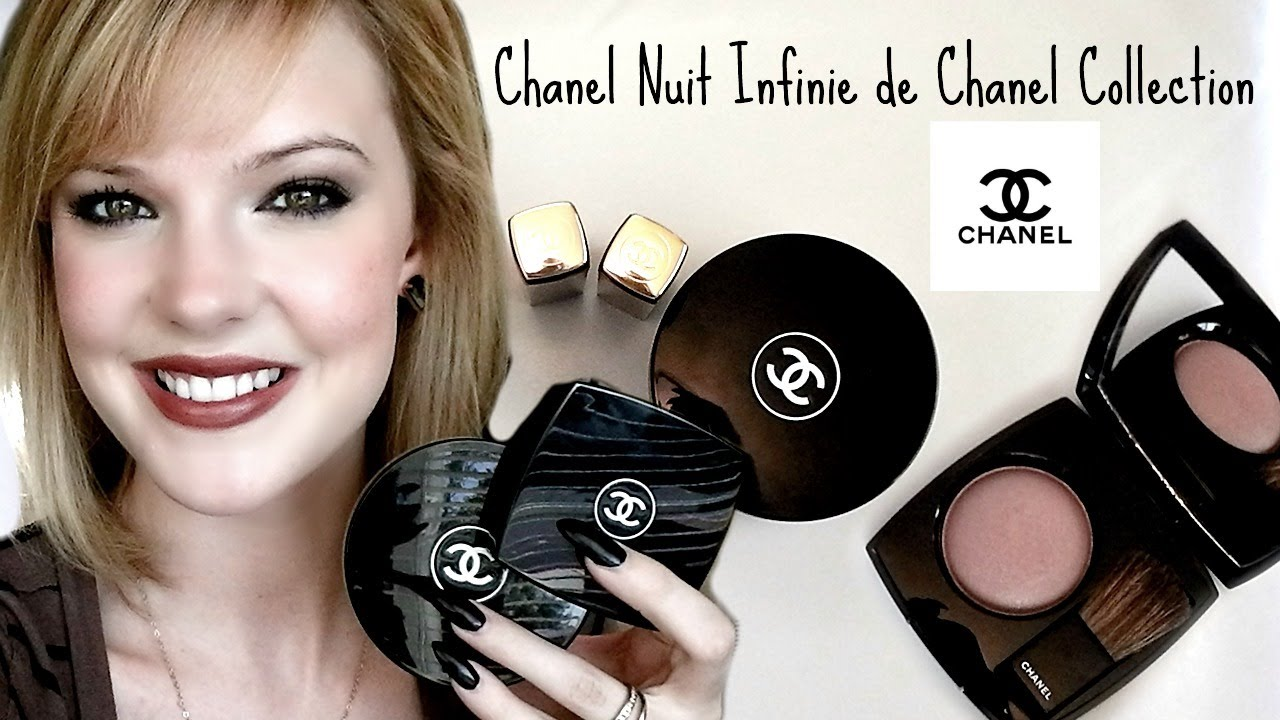 Chanel nuit infinie de chanel holiday makeup collection