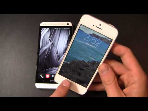 HTC One vs. Apple iPhone 5 Part 2