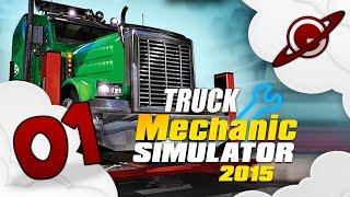 Truck Mechanic Simulator 2015  Lets Play Live 01