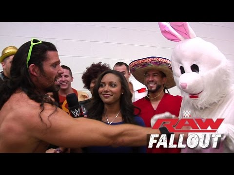 Don't Mess With the Bunny - Raw Fallout - Sept. 1, 2014