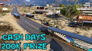 FIVE S.A.R.P - HUGE STREET OUTLAW CASHDAYS RACE! 200K PRIZE.