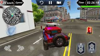 Police Car Offroad Crime Chase Driving Simulator / Android Gameplay FHD #3
