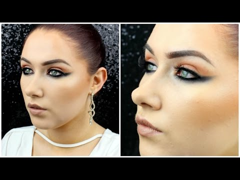 Kim Kardashian Cannes 2016 Inspired Makeup Tutorial ♡ Reverse Smokey Eye & Nude Lips ♡