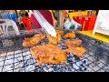 Luang Prabang Travel Guide - STREET FOOD Grilled Goat and SPECTACULAR Kuang Si Waterfalls, Laos!