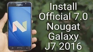 download lagu Install 7.0 Nougat  Update On Galaxy J7 2016 gratis
