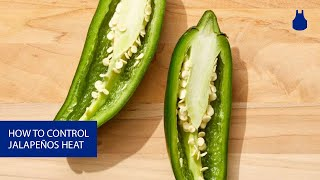 How to Control the Heat of Your Jalapeños
