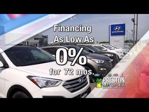 Preston Autoplex Memorial Day Sales Event - Ford, Hyundai, Lincoln, Mazda and Nissan