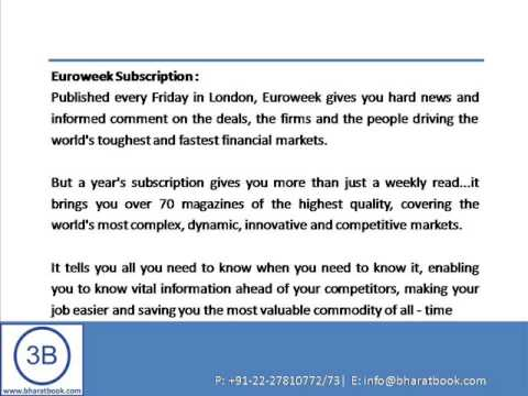 Bharat Book Presents : Global Capital - Euroweek