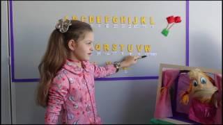 Inglês fácil aprenda brincando o Alfabeto aula 1
