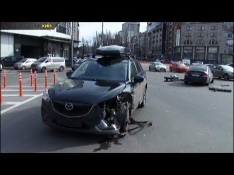 Їхав на зелений і потрапив у ДТП, подробиці аварії у Києві