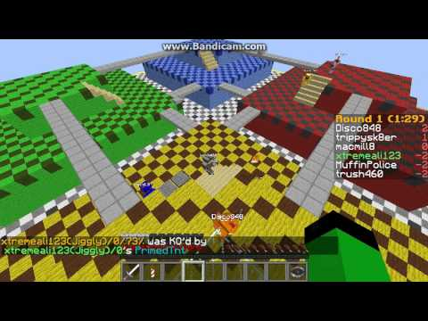 THE MOST EPIC BURP EVER!!!! Minecraft Super Smash Bros(NOT BY SETH BLING) Server Fun! (1)