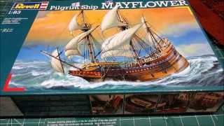 Revell 1/83 Mayflower Model Kit Thanksgiving Review
