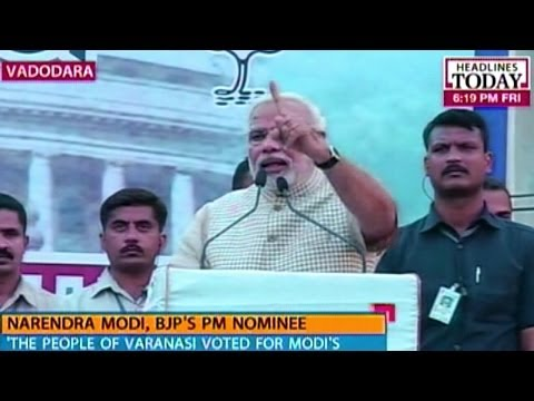 Narendra Modi's victory speech, first address to nation as PM designate