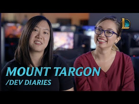Journey to Mount Targon | /dev diary - League of Legends