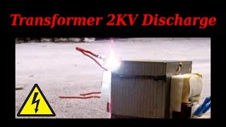 Microwave Oven Transformer (MOT) 2000V Discharge Test