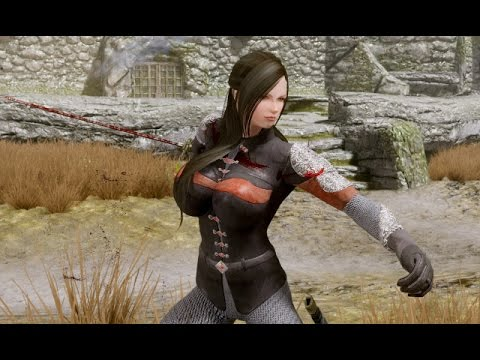 skyrim how to make a custom follower