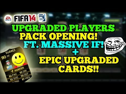 UPGRADED PLAYERS PACK OPENING FT MASSIVE IF + EPIC UPGRADED CARD PULLS!!