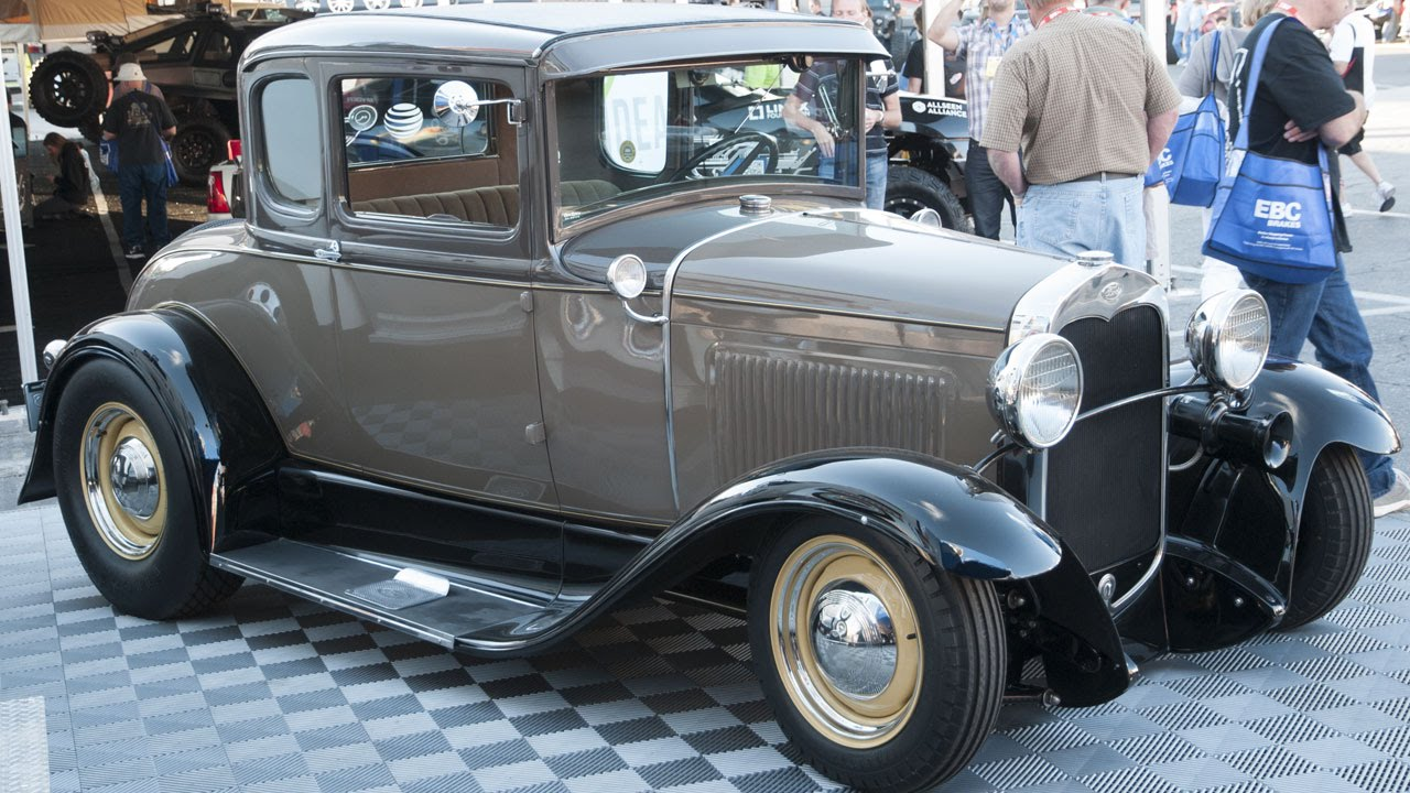 Street Rodder Magazine >> Model A Ford built by Hot Rods by Dean - YouTube