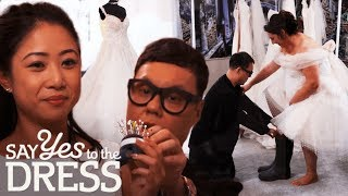 Gok Wan's Best Bespoke Dresses | Say Yes To The Dress Lancashire