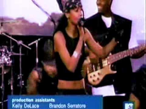 Aaliyah I Dont Wanna Live 2000 TRL MTV