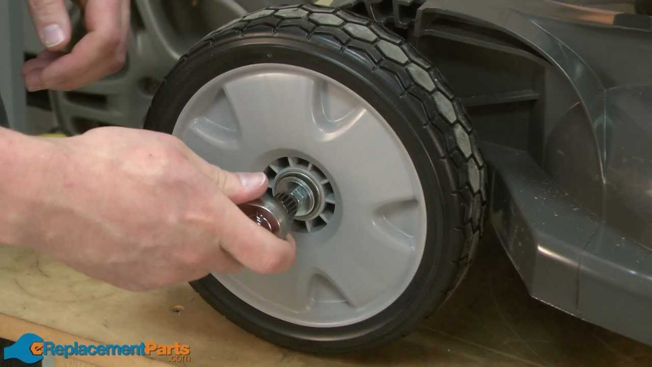 How To Replace The Front Wheel On A Honda Hrx217 Lawn