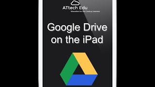 Google Drive on the iPad - Lesson 3 - Google Apps for Education Tutorial