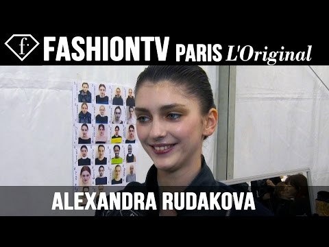 Alexandra Rudakova: My Look Today | Model Talk | Fashiontv video