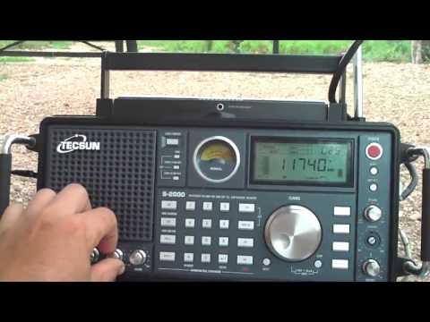 11740 kHz ALL INDIA RADIO VS CHINA NATIONAL RADIO