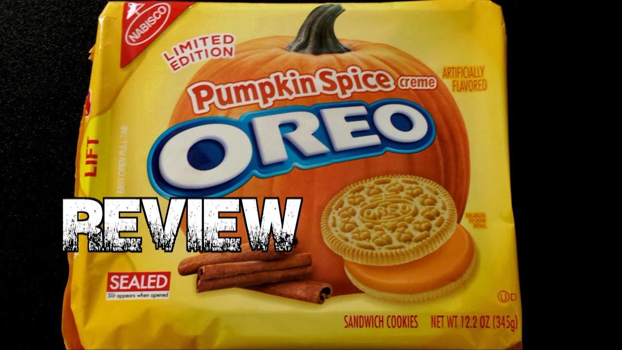 pumpkin spice oreos ingredients
