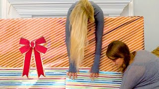 How to Wrap Holiday Presents! | iJustine