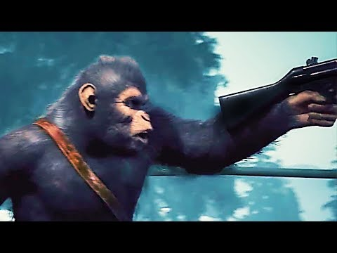 PLANET OF THE APES: LAST FRONTIER Trailer (2017) PS4 / Xbox One / PC